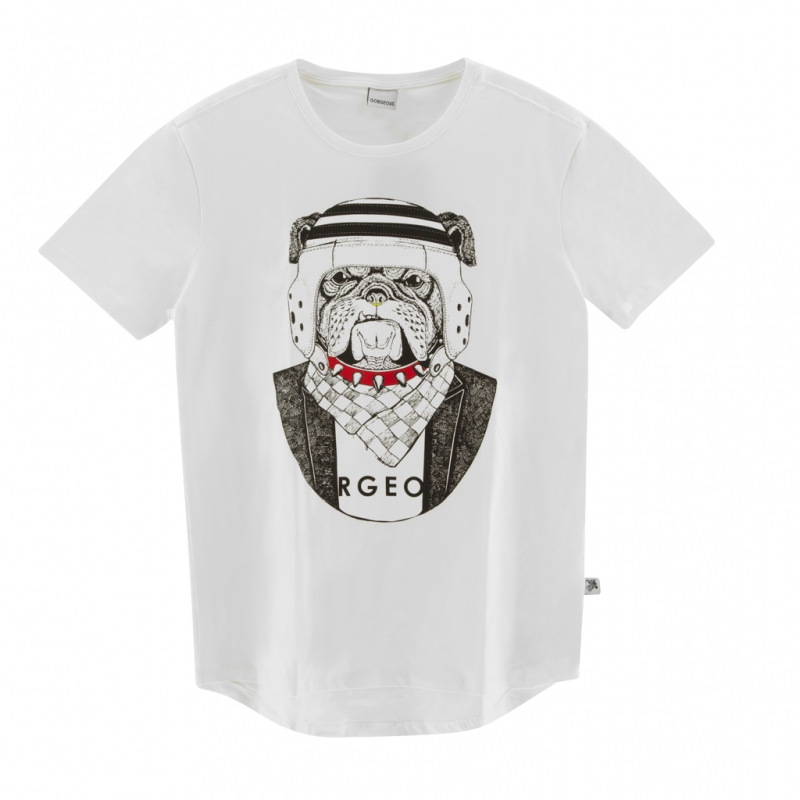 CAMISETA BULLDOG WHITE